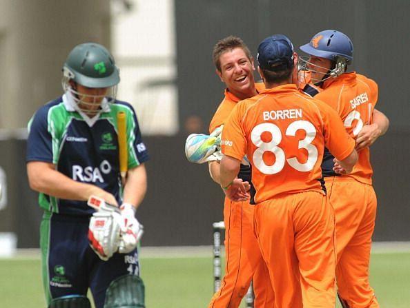 ICC World Twenty20 Qualifier: Preliminary Final - Ireland v Netherlands