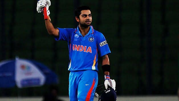 Century on debut world cup match