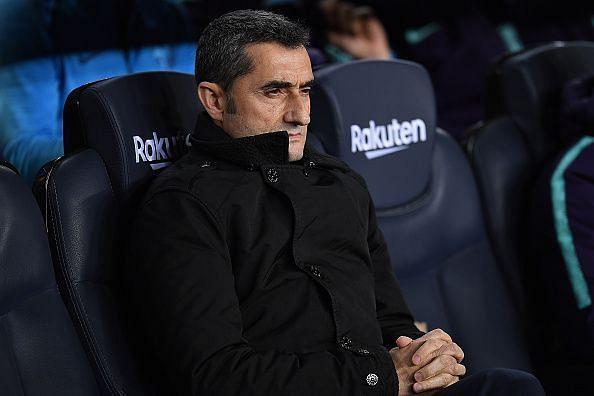 Valverde had to field a weakened team