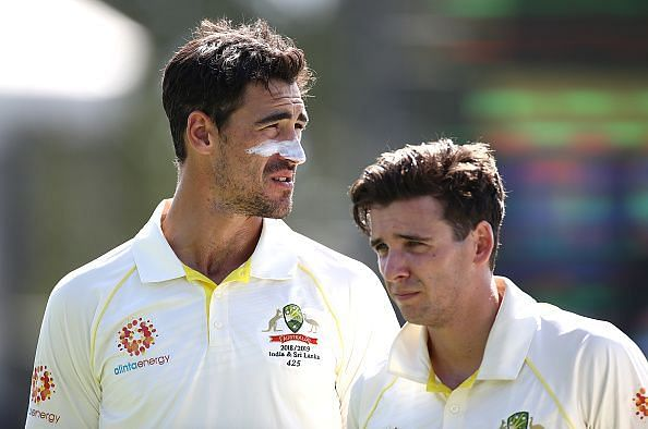 Mitchel Starc rulled out the series