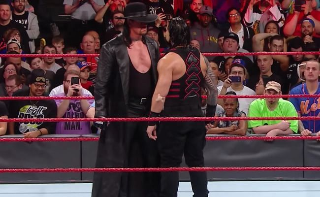 roman reigns and undertaker