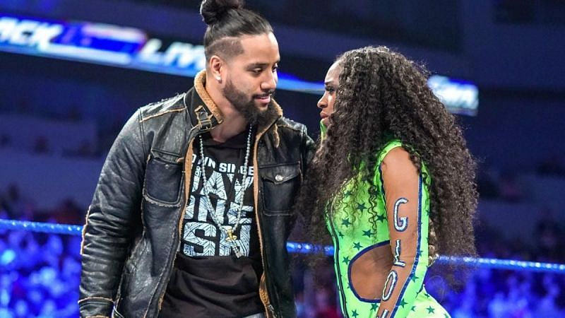 Image result for jimmy uso and naomi