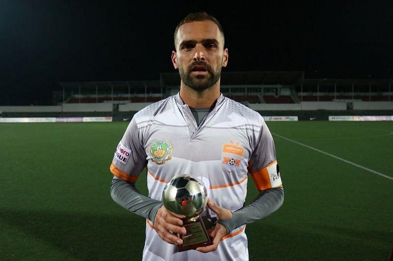 Pedro Manzi was the Man of the Match