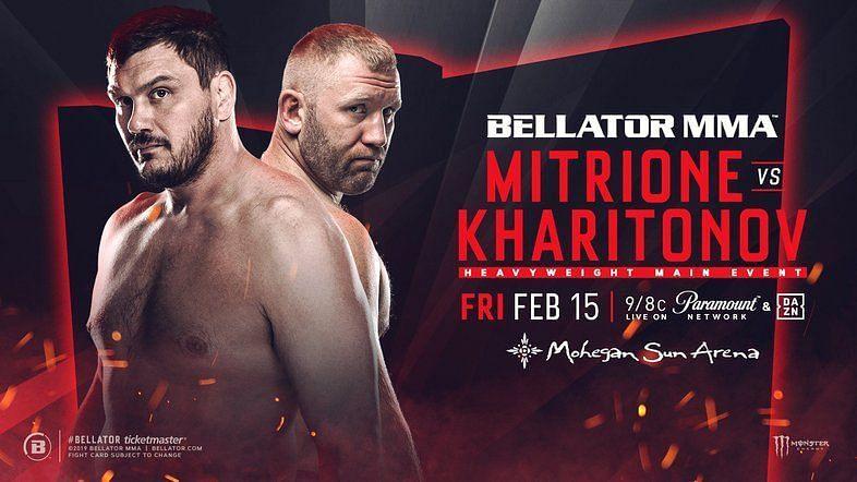 Matt Mitrione faces Sergei Kharitonov in the main event of Friday