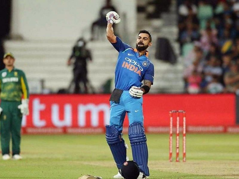 Image result for VIrat Kohli 1st ODI ton in South Africa