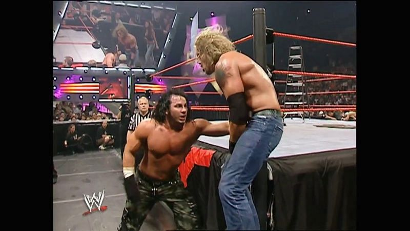 The WWE used the real-life drama between Edge and Matt Hardy in a storyline.