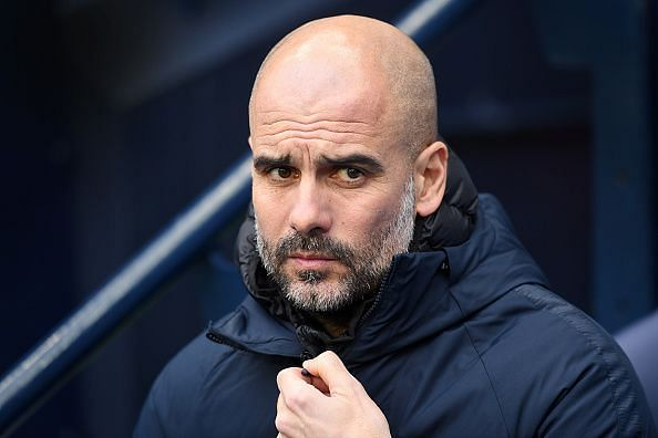 Pep Guardiola is wary of the task his Manchester City side have on their hands against Newport
