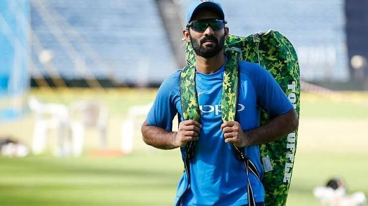 Dinesh karthik is a experienced Talented Player & as wicket keeper