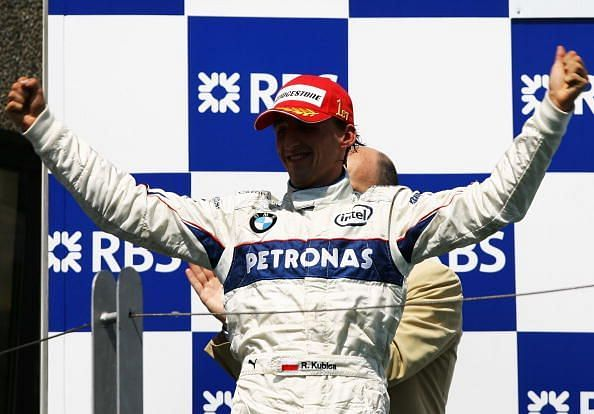 Robert Kubica got Sauber