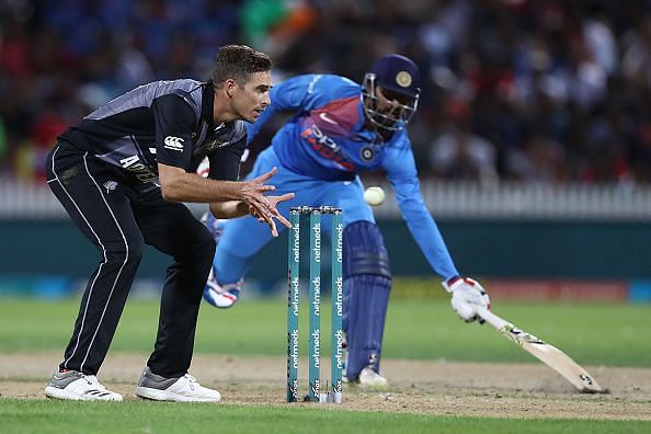 New Zealand v India - International T20 Game 3