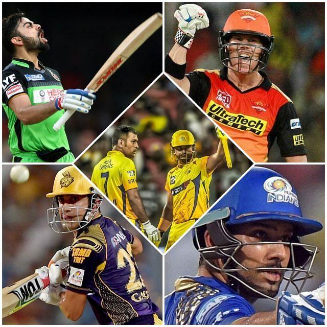 Top 5 IPL 50