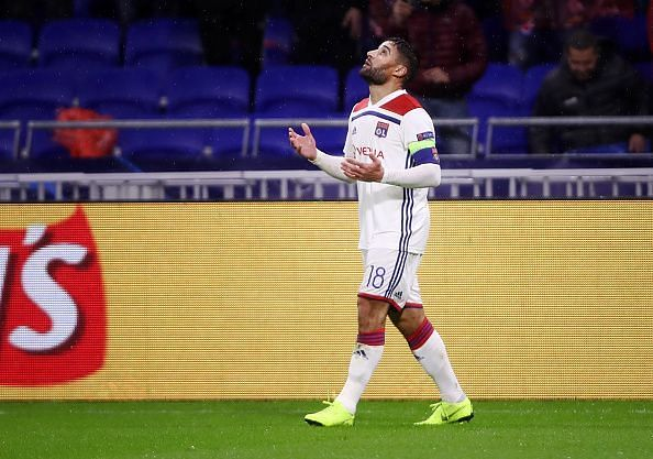 The French winger will be the biggest name missing for Lyon