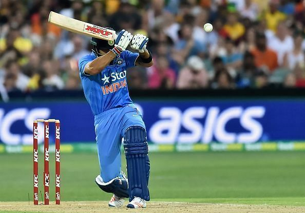 Virat Kohli scored 90* runs in Adelaide