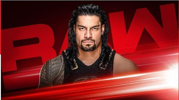 roman reigns in raw