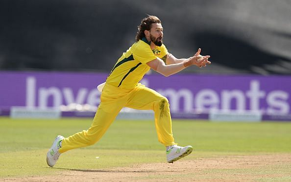 Richardson during an ODI in June last year