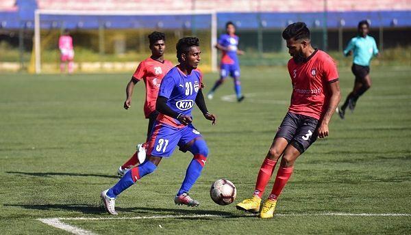 A file picture of Leon Augustine of Bengaluru FC