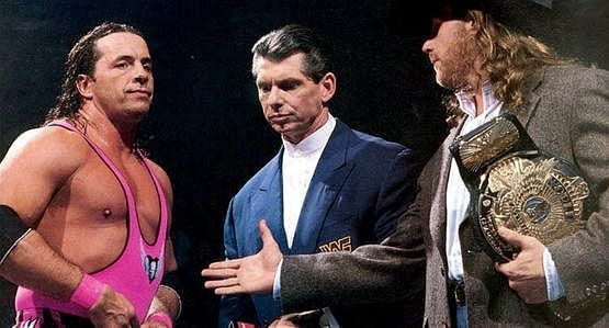 Bret Hart and Shawn Michaels: No strangers to WrestleMania chaos