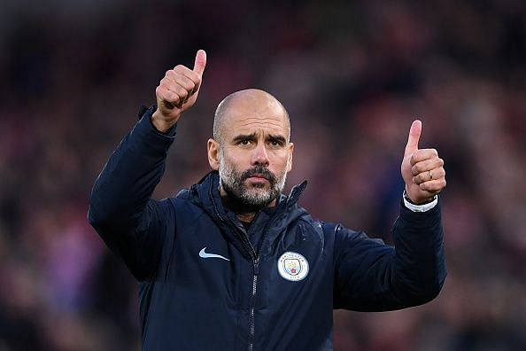 Pep is the best manager in the world