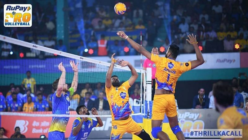 The two sides will have to be at their best to make it to the final (Image - RuPay Pro Volleyball League)