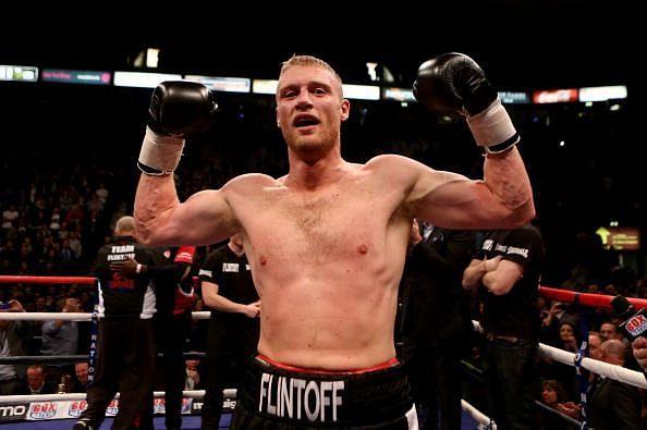 Andrew Flintoff v Richard Dawson - Special Attraction International Heavyweight Contest