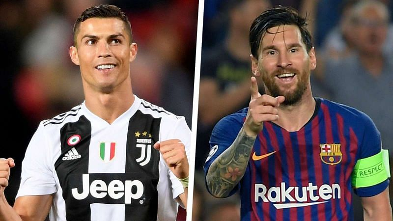 Ronaldo and Messi have dominated world football in the last decade