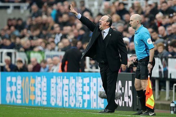 Rafael Benitez is a master at getting his teams to punch above his weight