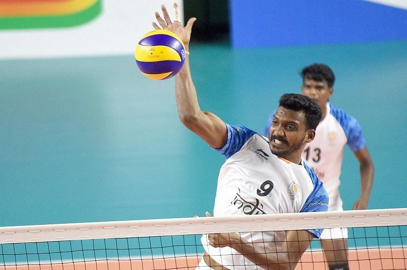 Deepesh Sinha at the 2018 Asian Games