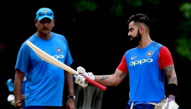 कप्तान विराट कोहली और हैड कोच रवि शास्त्री