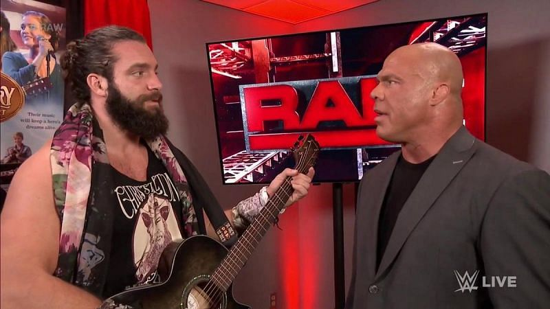 Elias and Kurt Angle