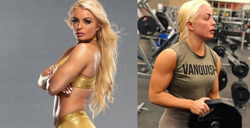 Mandy Rose is a highly driven individual at the gym