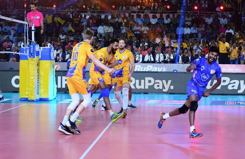 Chennai Spartans emerged as the winners of the inaugural edition of RuPay PVL