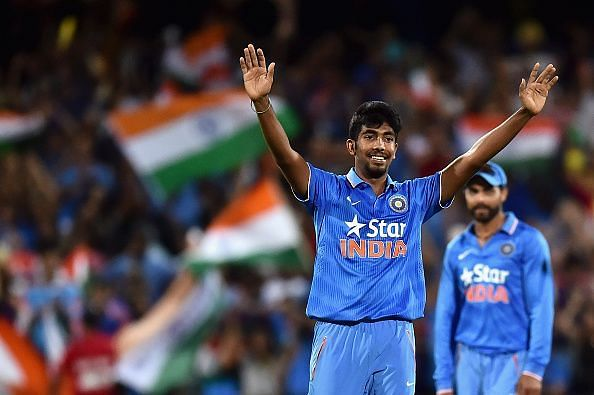 Jasprit Bumrah won an award at the Indian Sports honors