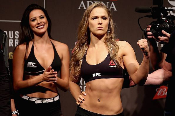 Ronda Rousey hung up her gloves in 2016 after her loss to Amanda Nunes
