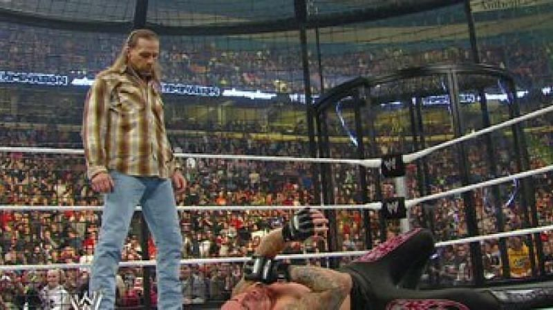Shawn Michaels cost The Undertaker his World Heavyweight Championship.