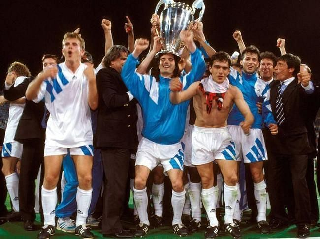 Marseille controversially won the competition in 1992/93