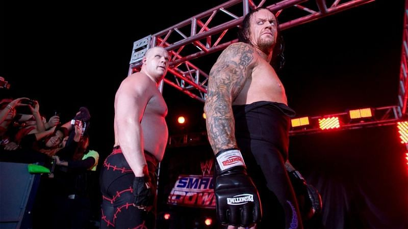 Image result for undertaker and kane