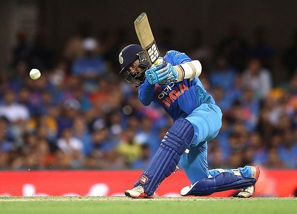 Dinesh karthik increase indian hope in this match