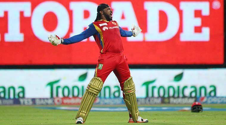 Chirsh Gayle scored fastest century in ipl history