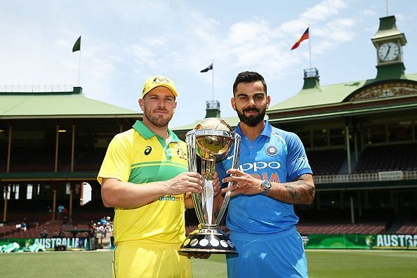 Australia and Indian captains