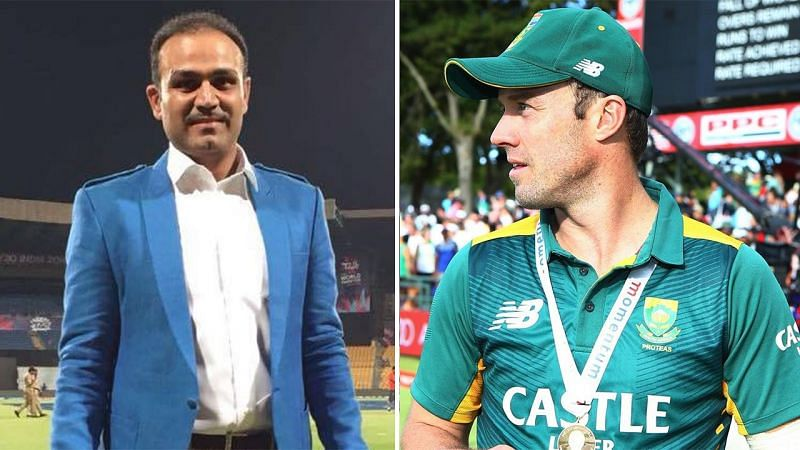 Sehwag And Ab devilliers