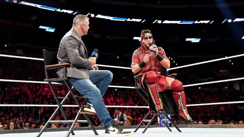 The Miz should only be a heel