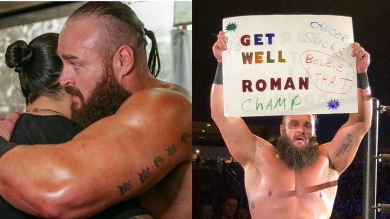 Braun Strowman and Roman Reigns are close friends