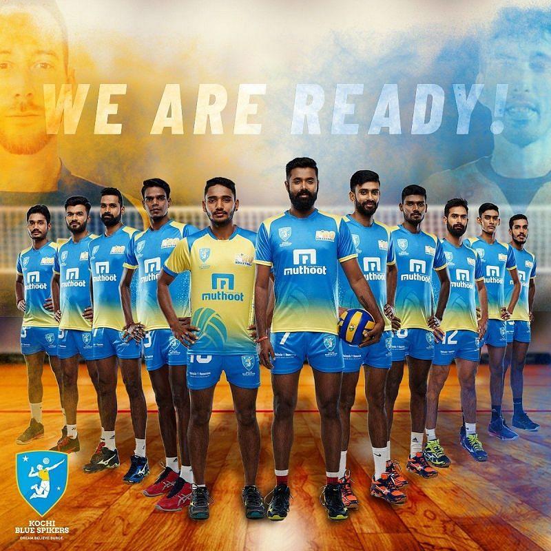 Team Kochi Blue Spikers
