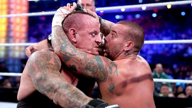 The Undertaker and CM Punk