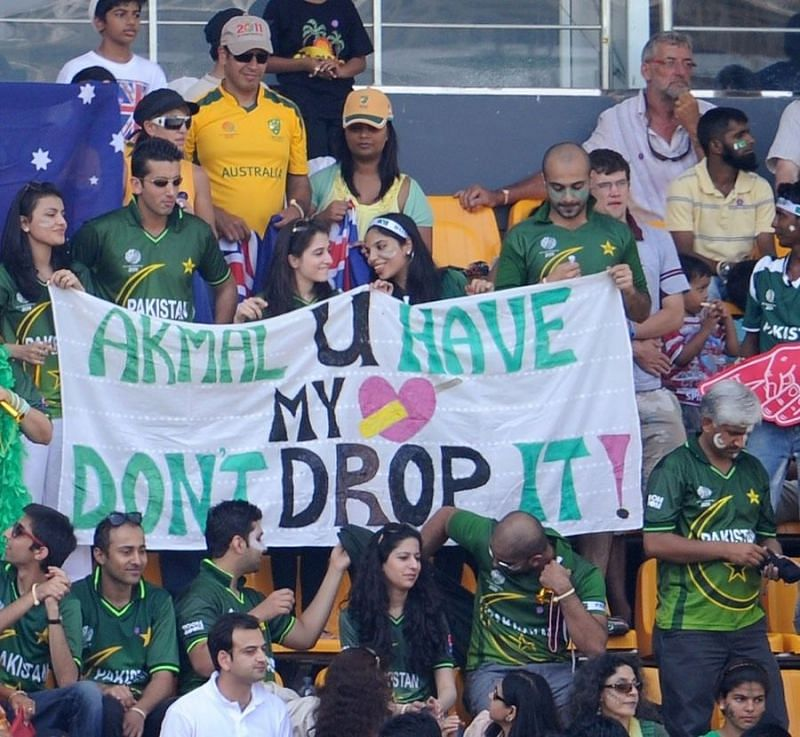 Kamran Akmal was once trolled by a fan for his infamous drops behind the wickets