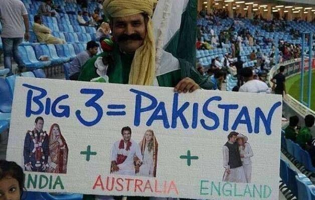 A witty Pakistani cricket fan