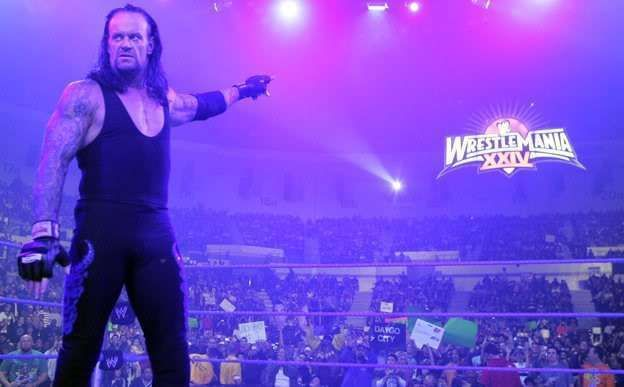 The Deadman is synonymous with WrestleMania.