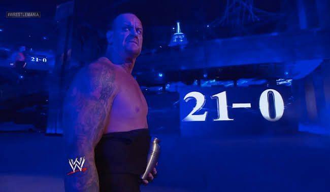 Wrestle mania Streak