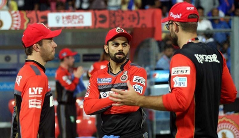 Royal Challengers Bangalore is captained by Virat Kohli