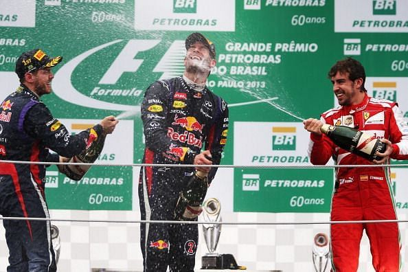 F1 Grand Prix of Brazil 2012 - which was won by Webber